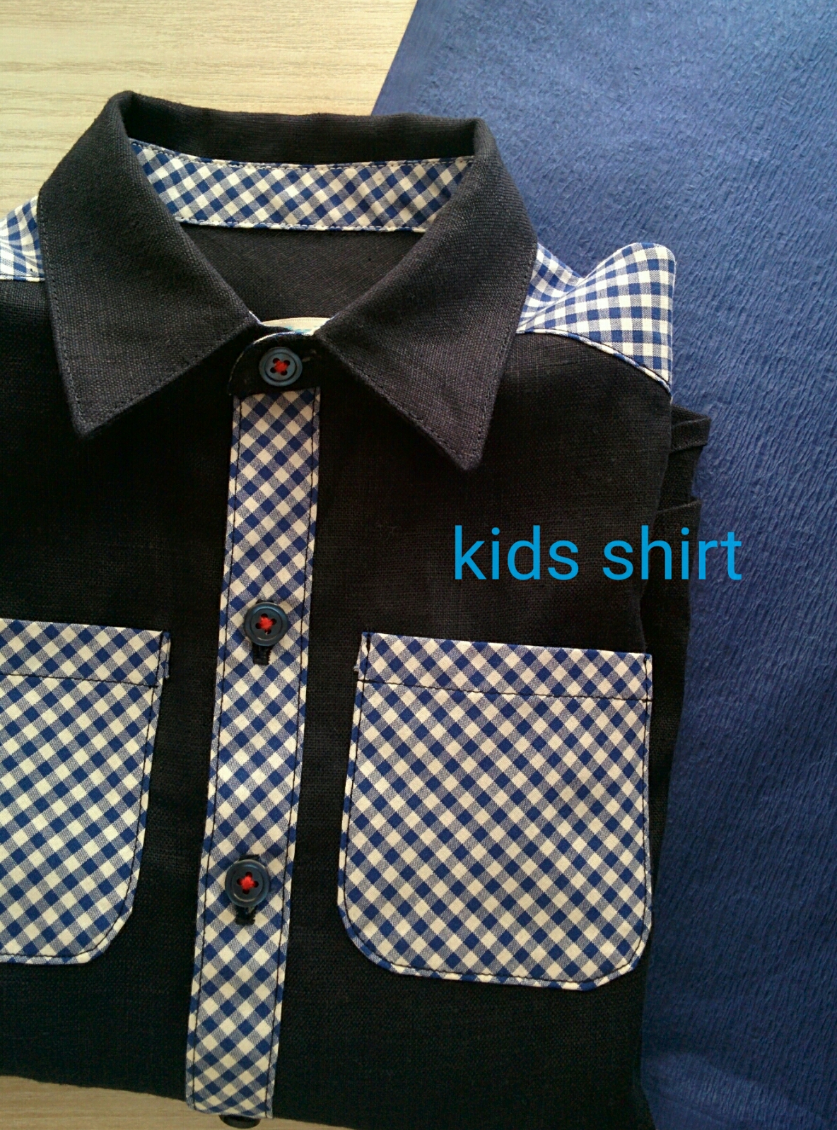子ども120センチシャツ